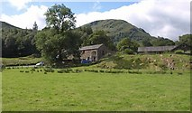 NY3916 : Buildings near Patterdale by Derek Harper