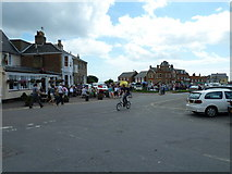 TM5075 : Looking from Lorne Road towards the antiques market by Basher Eyre