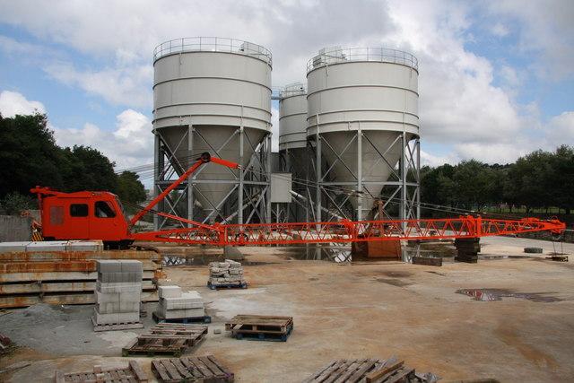 Cement Works next to Lighterage Quay, Truro