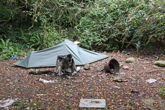 Rough Sleeper's Campsite