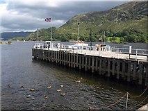NY3916 : Pier, Ullswater by Derek Harper