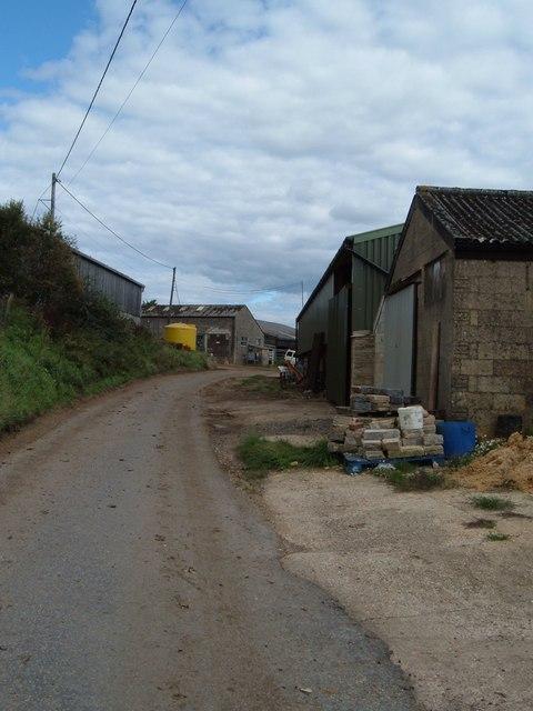 Buildings at Glidden Farm