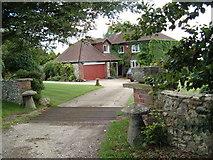 SU6615 : Glidden Farm House by Margaret Sutton