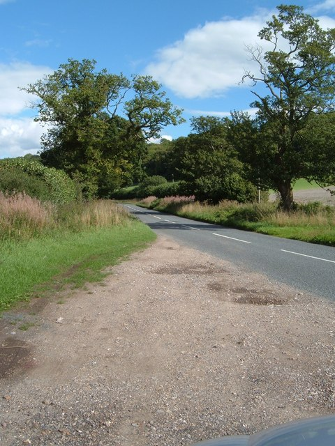 The road from Hambledon to Clanfield
