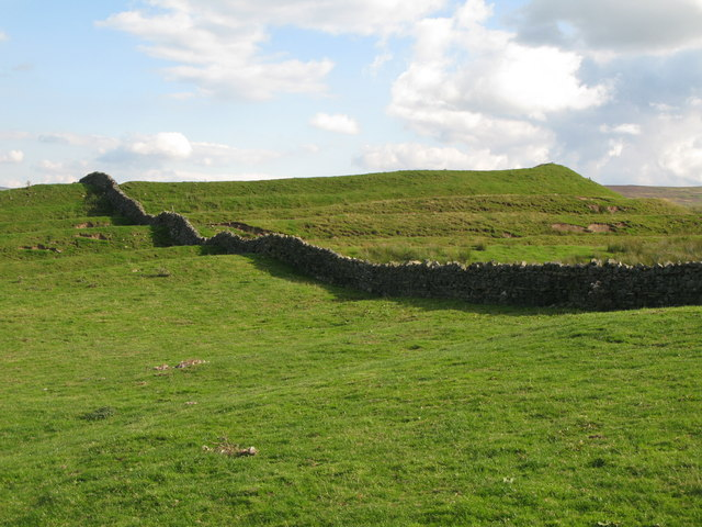 Whitley Castle (Epiacum) - northwest ramparts
