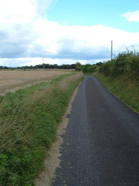 Lane east of Chidden