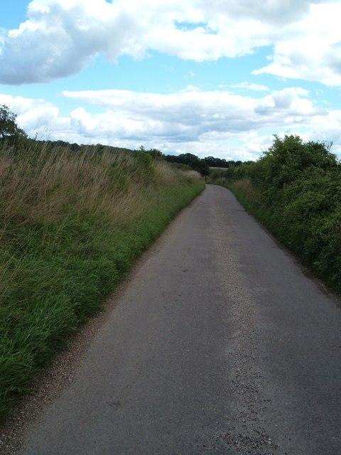 Country lane, Chidden