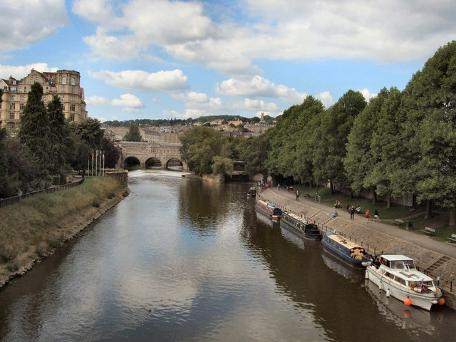 Boats on River Avon
