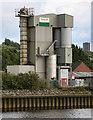 NZ1963 : Tarmac Topmix Scotswood Plant by Peter McDermott