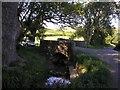 NT4830 : The Bridgelands Road crosses the Batts Burn by Iain Lees