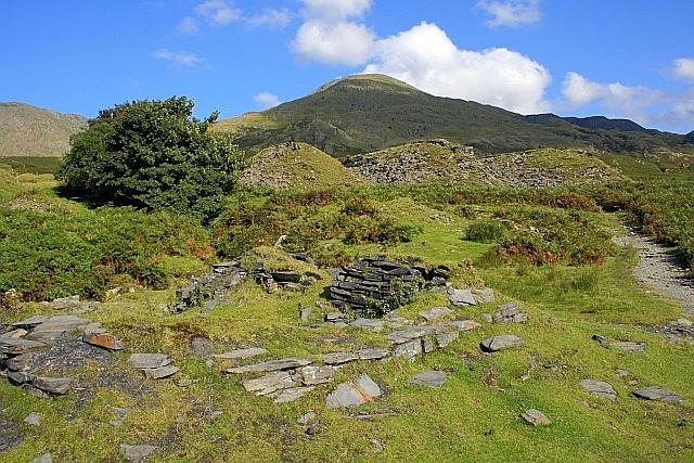 Ruin, Near Tranearth Quarry