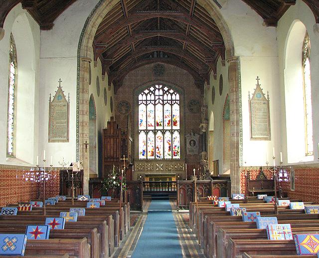St Mary's church in North Tuddenham - view east