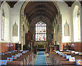 TG0512 : St Mary's church in North Tuddenham - view east by Evelyn Simak
