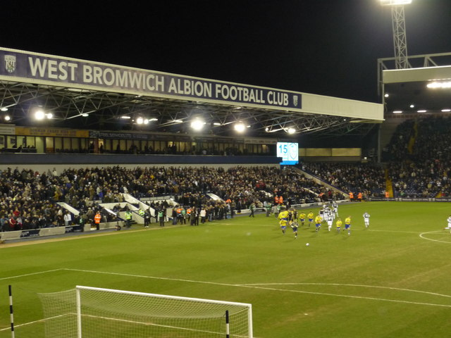 View from the Smethwick End, The Hawthorns, West Bromwich