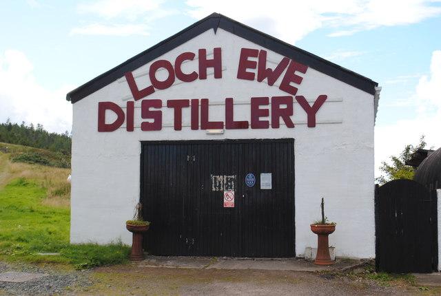 Loch Ewe Distillery, Drumchork