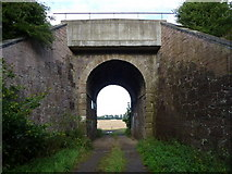 NT5678 : East Lothian Bridges : ECML Bridge 63 near Crauchie by Richard West