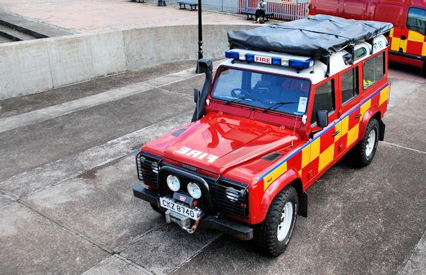 Lagan weir, Belfast - rescue exercise (3)