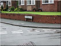 SJ8958 : Sycamore Close sign by Jonathan Kington