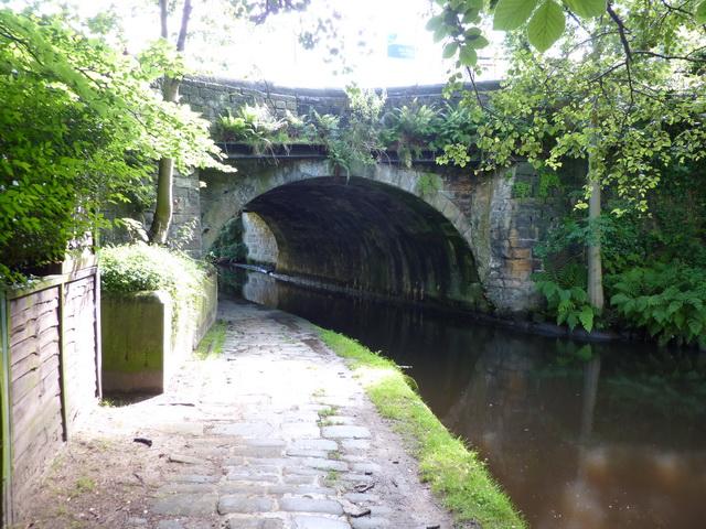 Gauxholme Bridge, Rochdale Canal