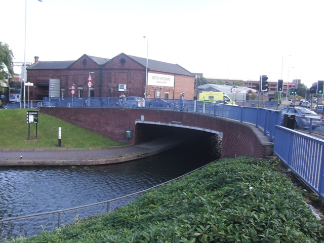 Birmingham Canal - Broad Street Canal Bridge