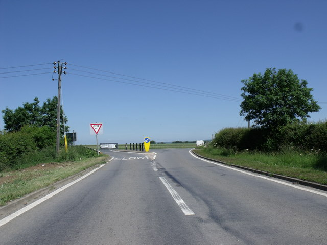 The A1077 junction