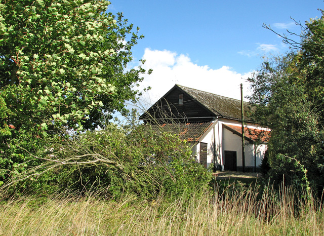 A glimpse of Beech House