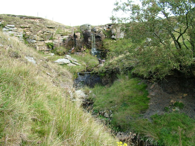 Waterfall on Smeltmill Beck