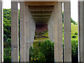 NZ4510 : Viaduct over the River Leven by Graham Scarborough