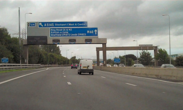 M60 Anti Clockwise Approaching Junction 169 David Dixon Cc By Sa 2 0 Geograph Britain And