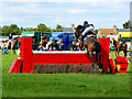 SU0992 : Horserider, Cricklade Show 2010 (2) by Brian Robert Marshall