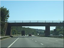 ST0104 : Bridge over M5, carrying road from Westcott to Bradninch by David Smith