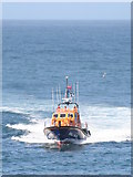 SW3526 : Sennen Cove lifeboat by Rod Allday