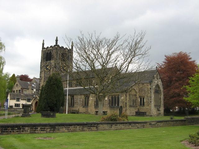 All Saints Parish Church, Old Main Street, Bingley