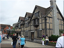 SP2055 : William Shakespeare's birthplace by James Denham