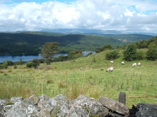 View from Fell Foot Brow (road)