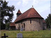 TL4311 : St Mary's Church, Little Parndon, Essex by Peter Stack