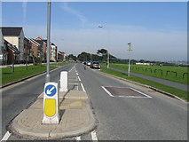 NZ3766 : Bents Park Road, South Shields by Alex McGregor