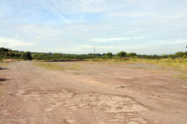 Brownfield site near the railway and A72