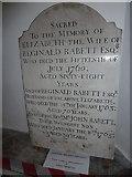 TM3973 : St Andrew's Bramfield:  memorial (4) by Basher Eyre