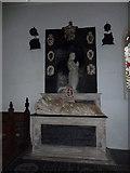 TM3973 : St Andrew's Bramfield:  tomb memorial by Basher Eyre