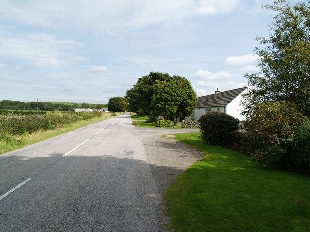 Roadway along Abbey Yard