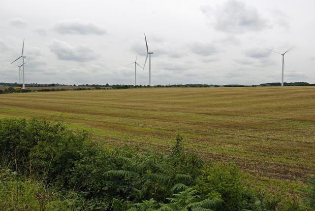 Lindhurst Farm Wind Turbines