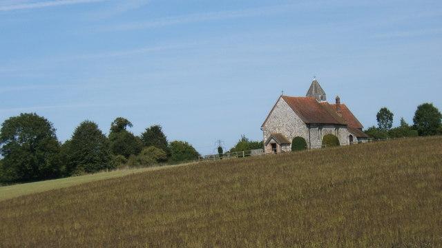 St Hubert's Idsworth Church