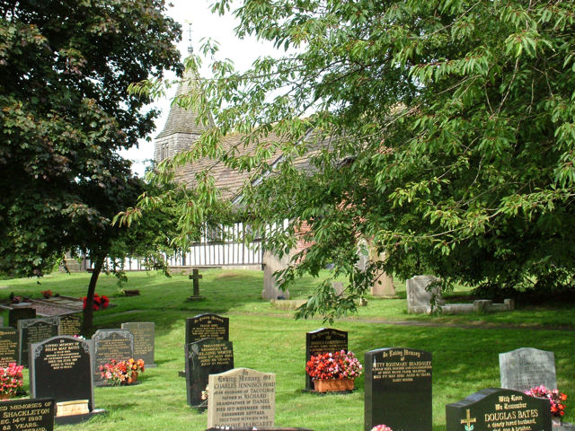 Churchyard at Marton, Cheshire