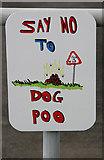 NT5247 : Say no to dog poo by Walter Baxter