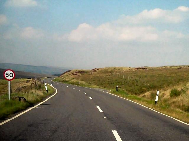 Blackstone Edge Road, Soyland Moor