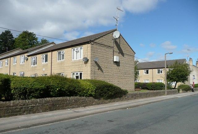 Flats in Norton Close, Elland
