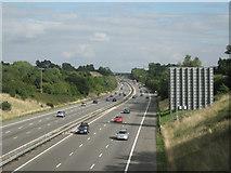 SP1670 : M40 southeast of Tapster Lane bridge by Robin Stott