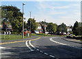 SO9689 : Sharp bend on Oakham Road by Row17