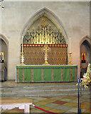 TL8564 : St Edmundsbury cathedral, Bury St Edmunds - sanctuary by Evelyn Simak